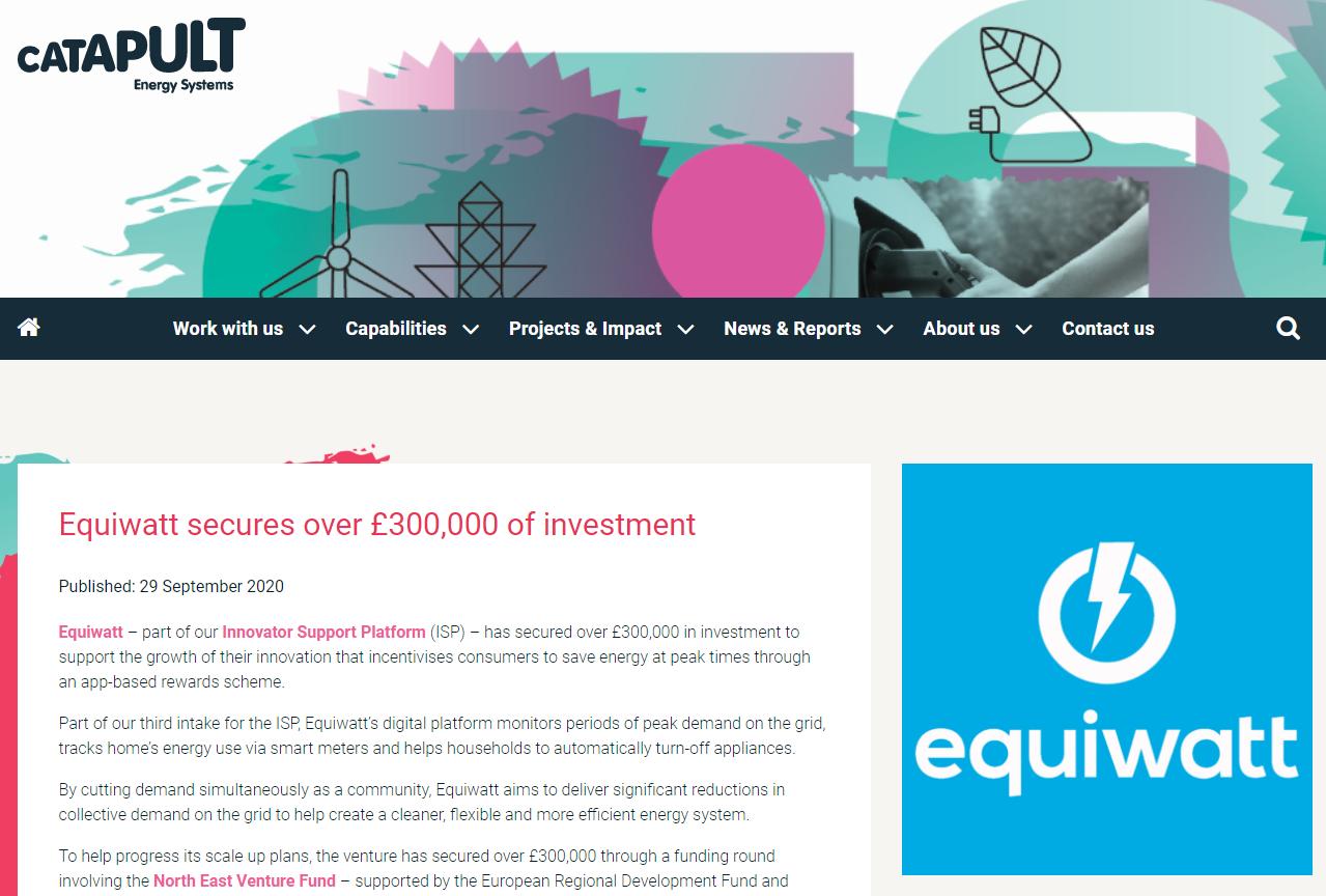 ESC Equiwatt Investment Coverage